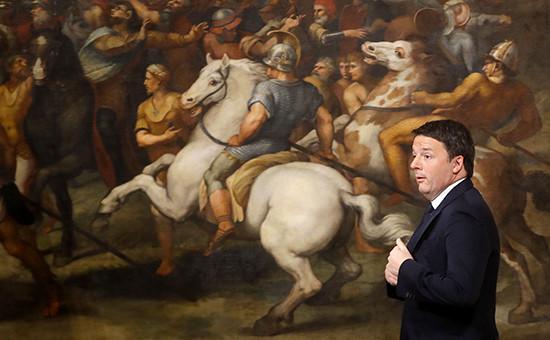 Премьер-министр ИталииМаттео Ренци