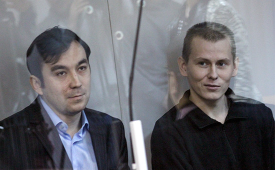 Евгений Ерофеев и Александр Александров в Голосеевском суде