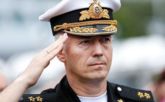 Вице-адмирал Александр Носатов