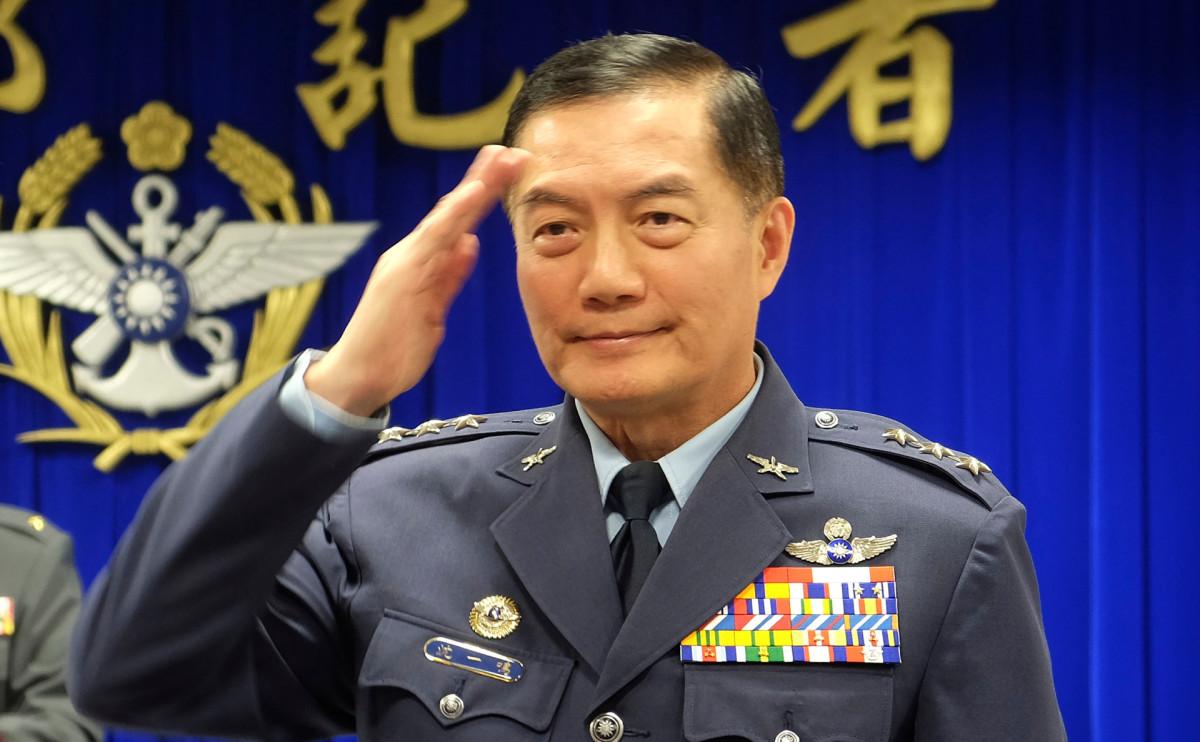 Начальник Генштаба Тайваня Шэн Иминь