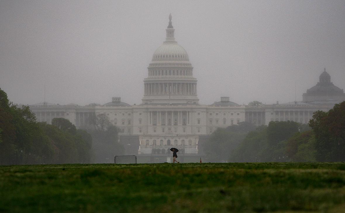 Здание вашингтонского Капитолия, где заседает сенат США