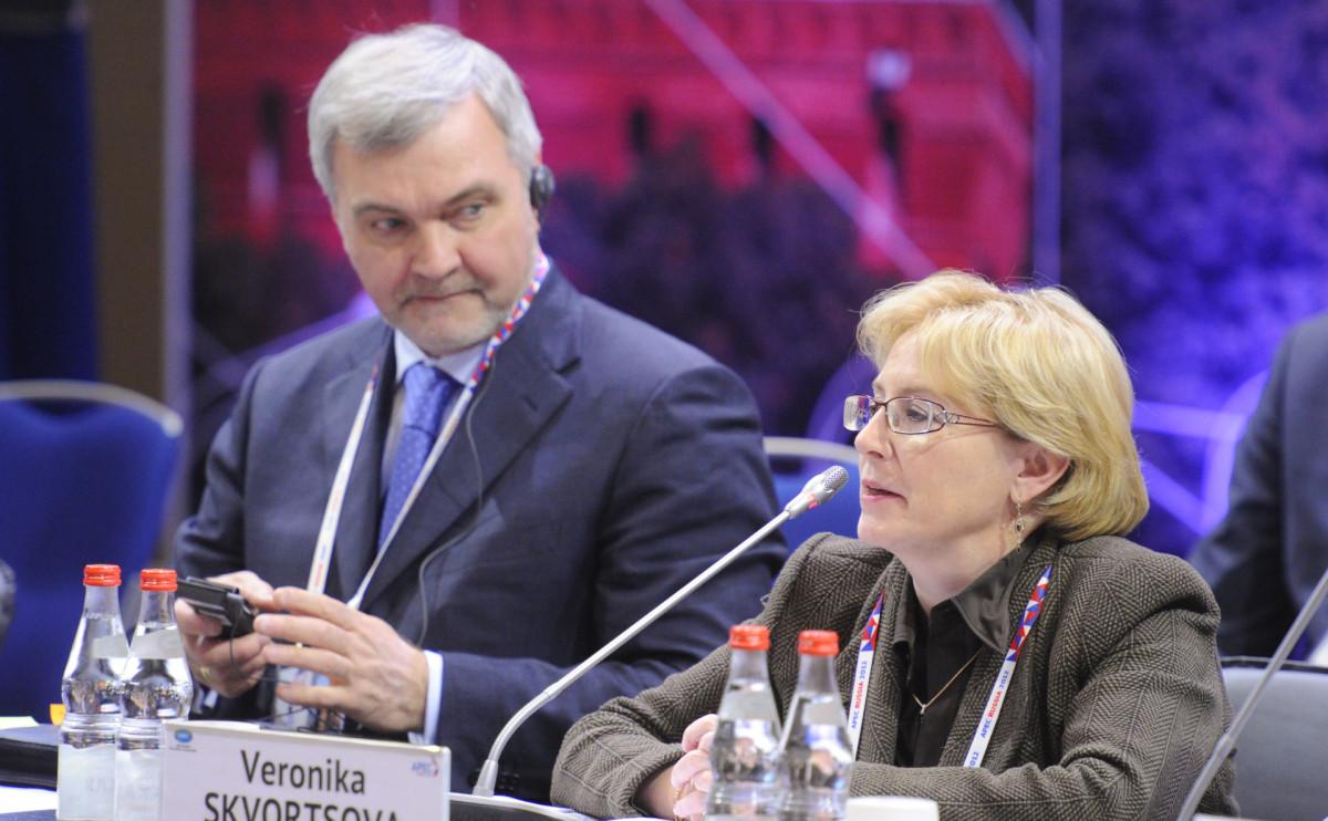 Владимир Уйба и Вероника Скворцова