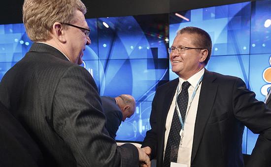 Экс-министр финансов Алексей Кудрин иглава МинэкономразвитияАлексей Улюкаев, июнь 2015 года