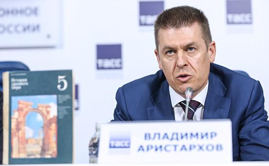 Первый замминистра культуры России Владимир Аристархов