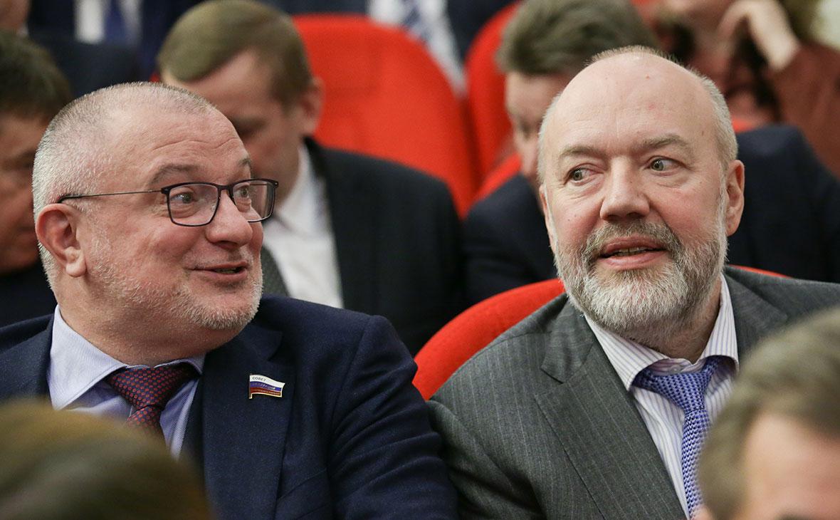 Андрей Клишас и Павел Крашенинников