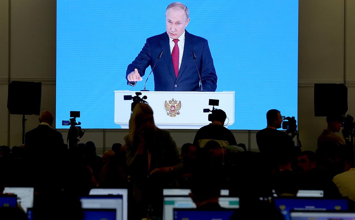 Кремль ответил на сообщения о переносе послания президента на весну