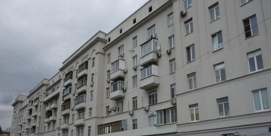 Семиэтажное здание в Рязанском районе Москвы, построенное в 1935 году по индивидуальному проекту