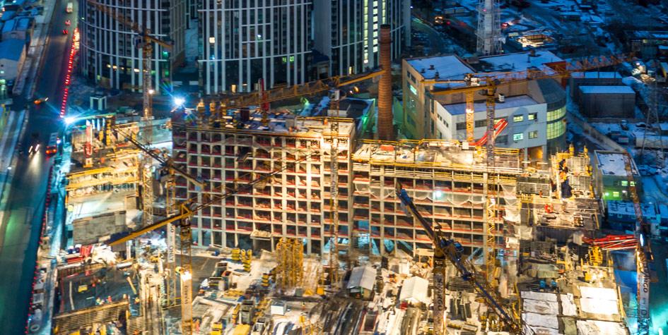 Строительство апартаментов в Москве