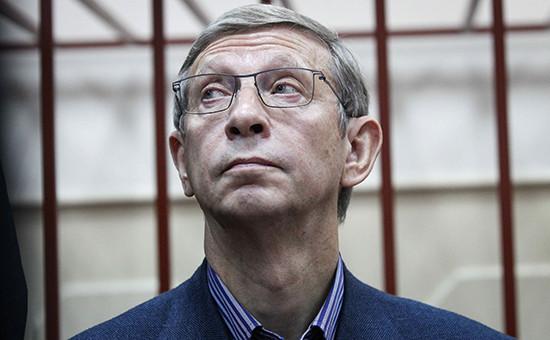 Глава АФК «Система» Владимир Евтушенков на заседании Басманного суда