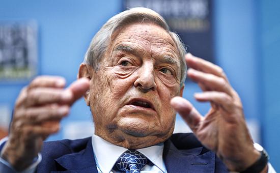 Американский финансист и миллиардер Джордж Сорос