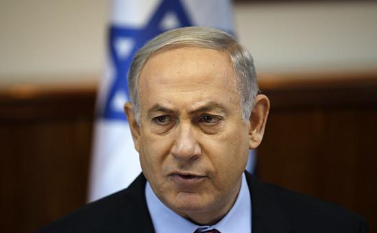 Премьер-министр ИзраиляБеньямин Нетаньяху