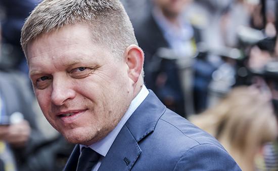 Премьер Словакии Роберт Фицо