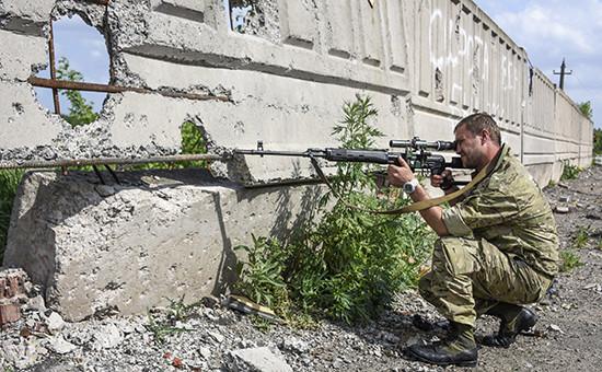 Военнослужащий армии ДНР. Архивное фото