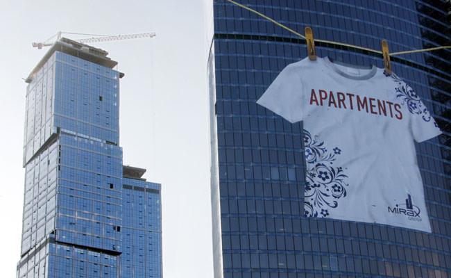 Комплекс апартаментов в«Москва-Сити»