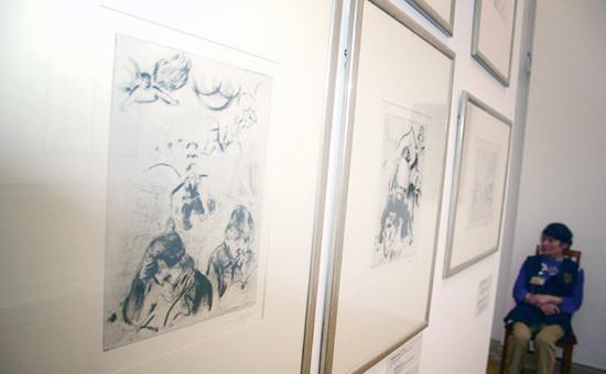 Выставка «Марк Шагал» вГосударственном Русском музее