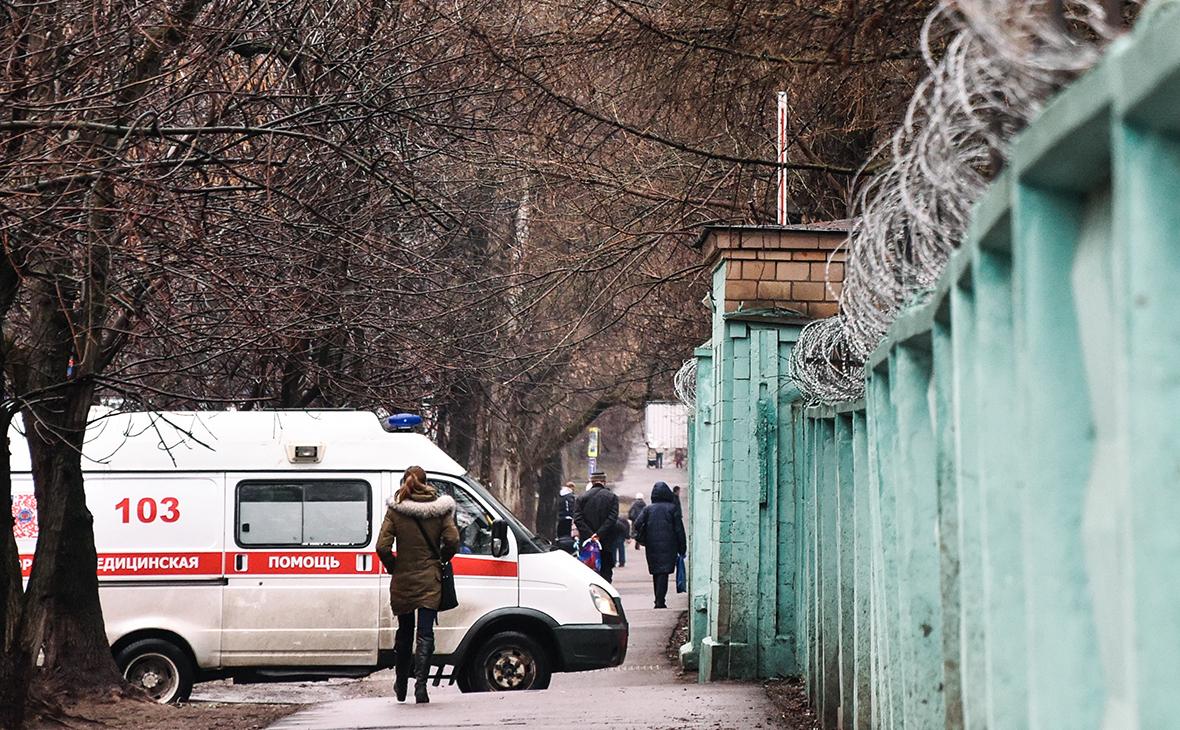 Больница в Москве, где находится пациент с подозрением на коронавирусную инфекцию
