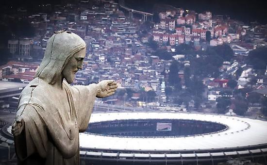Вид наРио-де-Жанейро, Бразилия
