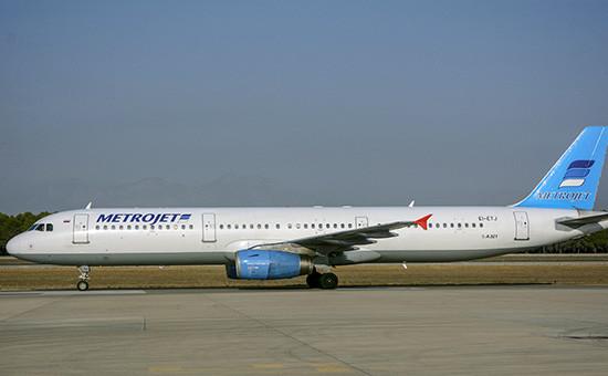 Разбившийся наСинаеAirbus A321. Архивное фото