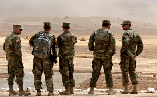 Американские солдаты в Иордании