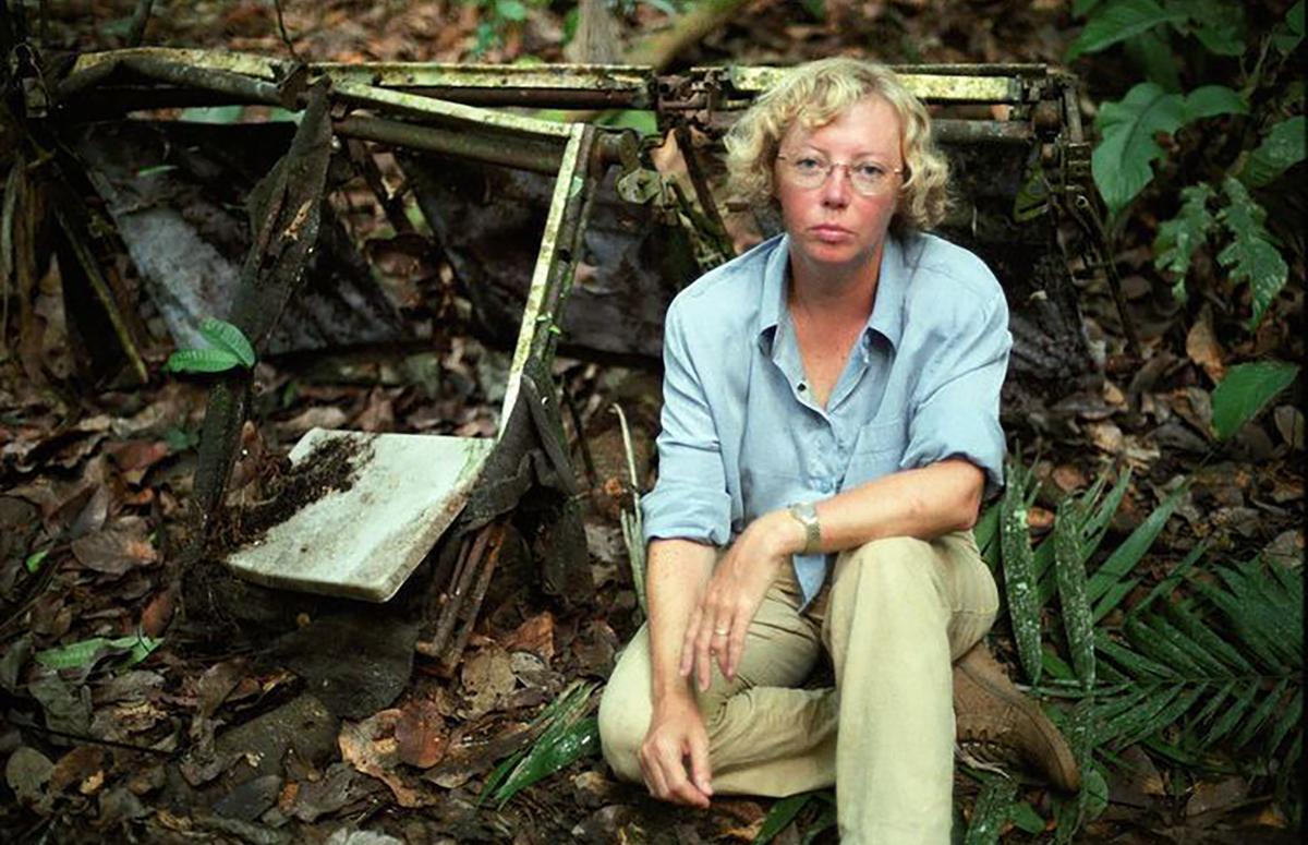 Джулиана Кепке, уцелевшая после авиакатастрофы