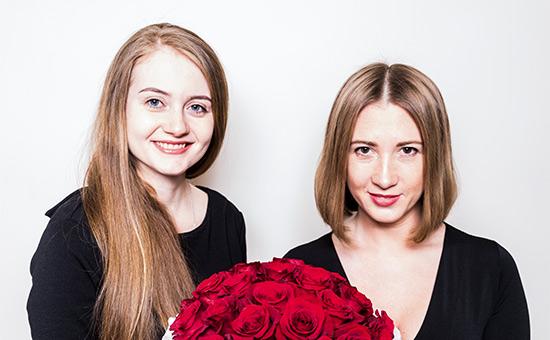 Анна Аветова и Алиса Скардино (слева направо)