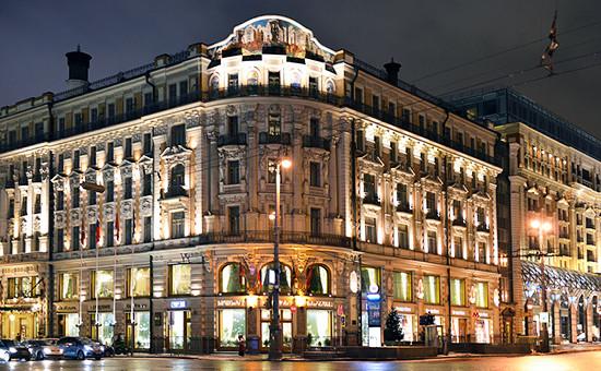 Здание гостиницы «Националь» на Моховой улице