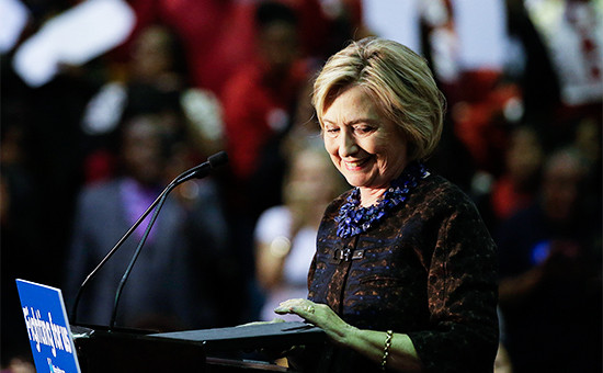 Бывший Государственный секретарь США Хилари Клинтон
