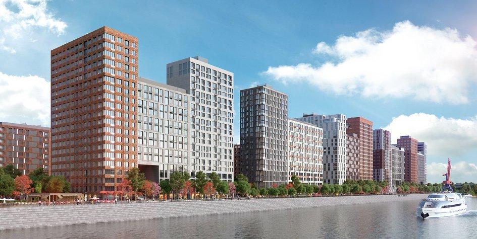 Визуализация жилого комплекса «Западный порт. Кварталы на набережной»