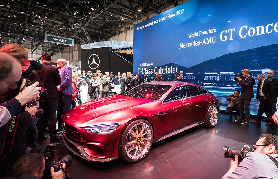 Концепт Mercedes-AMG GT4