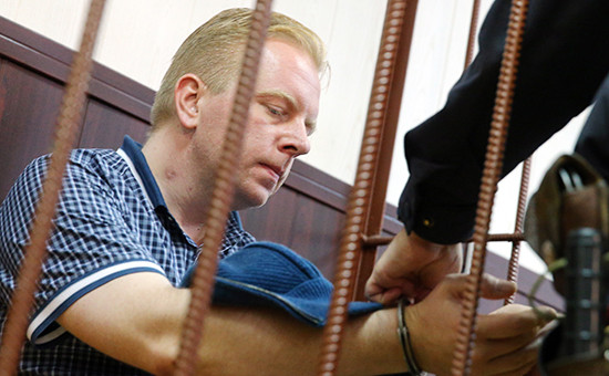 Генеральный директор Российского авторского общества Сергей Федотов вТаганском районном суде, 28 июня 2016 года