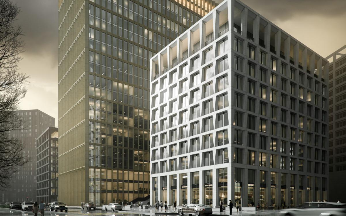 Премиальный офисный квартал STONE Towers