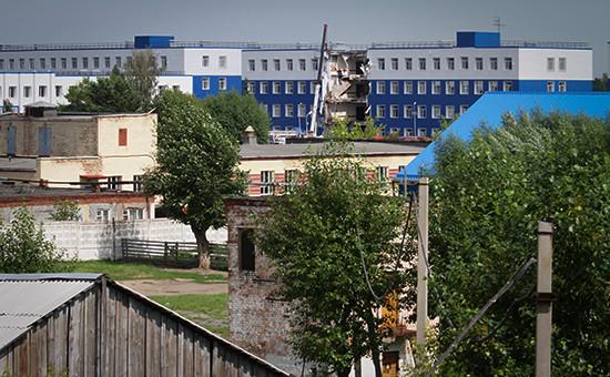 Обрушение казармы в учебном центре ВДВ под Омском