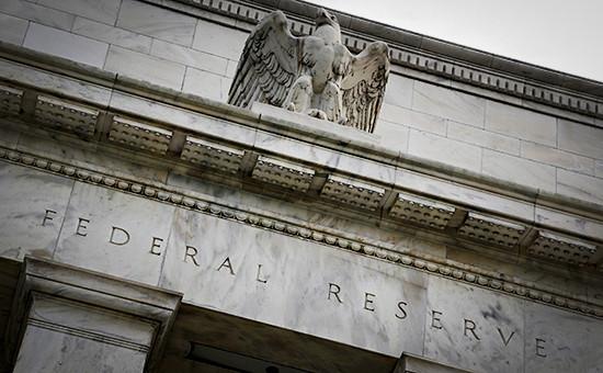 Фасад здания ФРС США в Вашингтоне