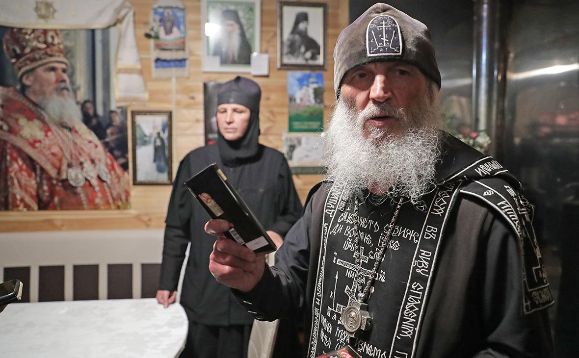 Схиигумен Сергий (Николай Романов) в обители на территории Среднеуральского женского монастыря