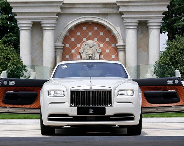 Фото: Rolls-Royce Wraith