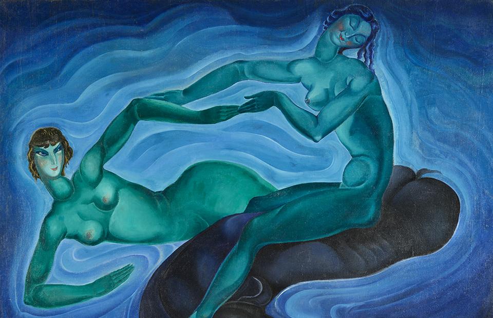 Ладо Гудиашвили. «Зеленые феи»