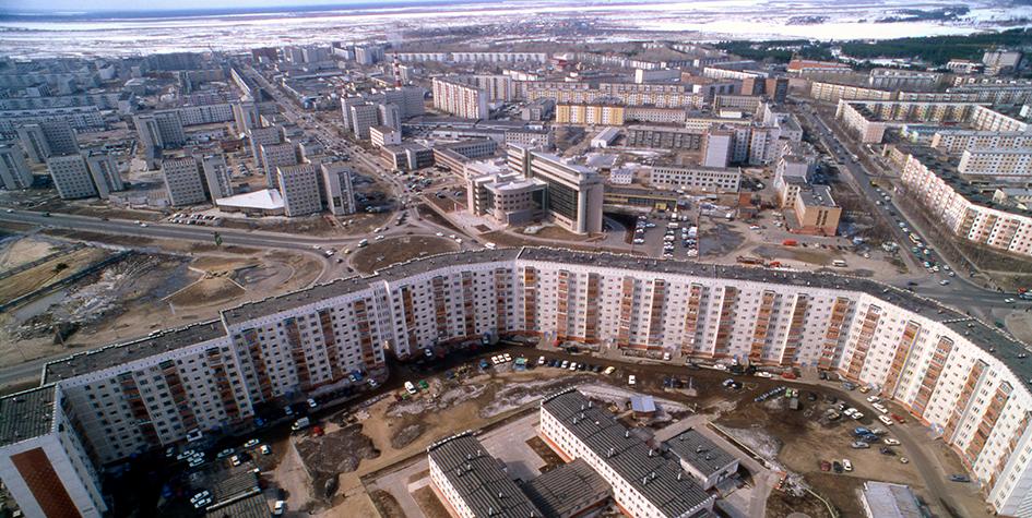 Виды Сургута (ХМАО)