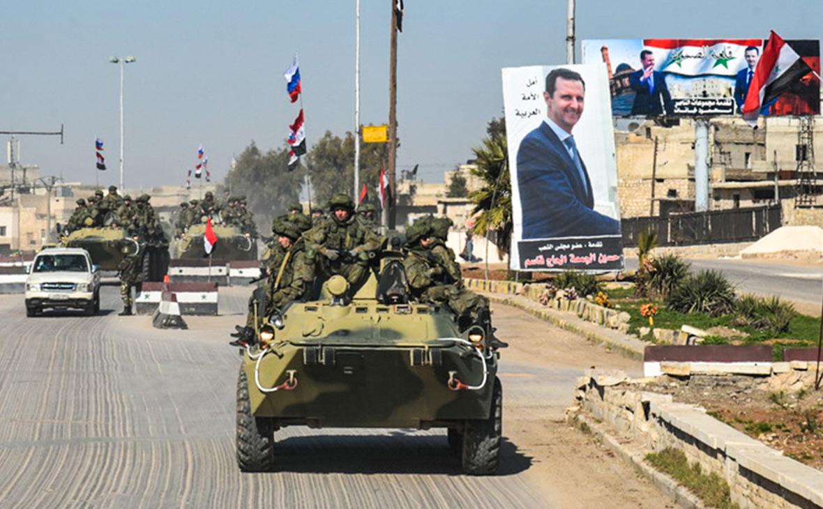 Российские саперы в Алеппо