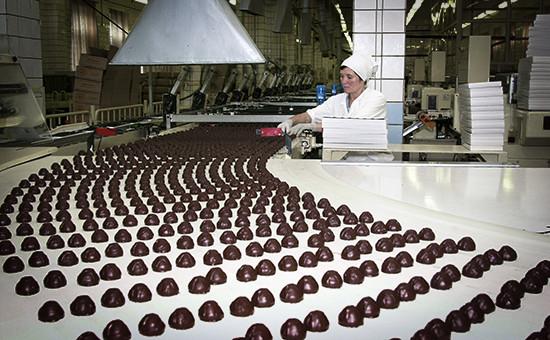 Линия по изготовлению  конфет на кондитерском концерне «Бабаевский»