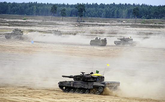 Учения НАТО на территории Польши