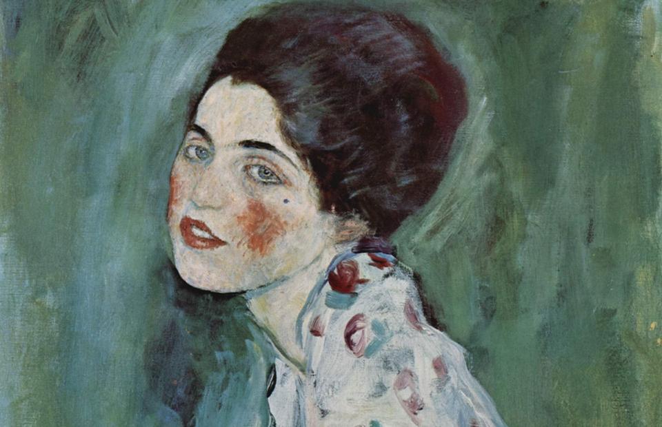 Густав Климт, «Портрет женщины», 1916
