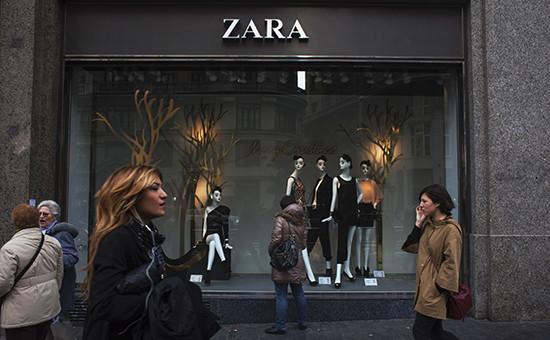 Магазин сети Zara