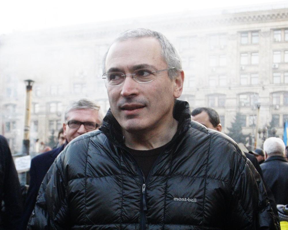 Российский предприниматель Михаил Ходорковский