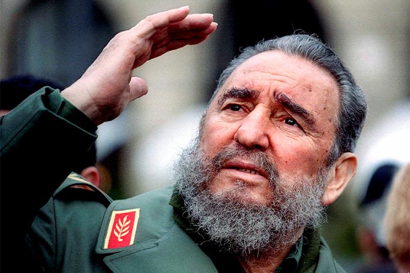 Лидер кубинской революции Фидель Кастро. 2008 год