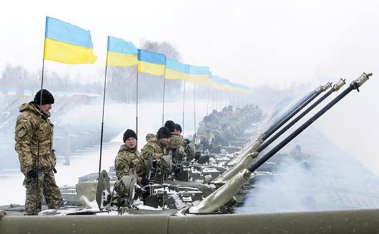Группа войск Украины, январь 2015г.
