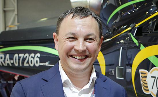 Председатель совета директоров компании «Хелипорты России» Александр Хрусталев