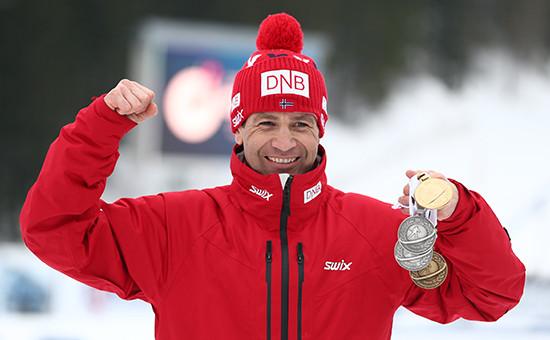 Норвежский спортсмен Уле-Эйнар Бьорндален
