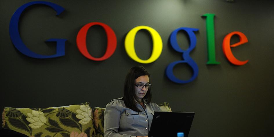 В офисе компании Google