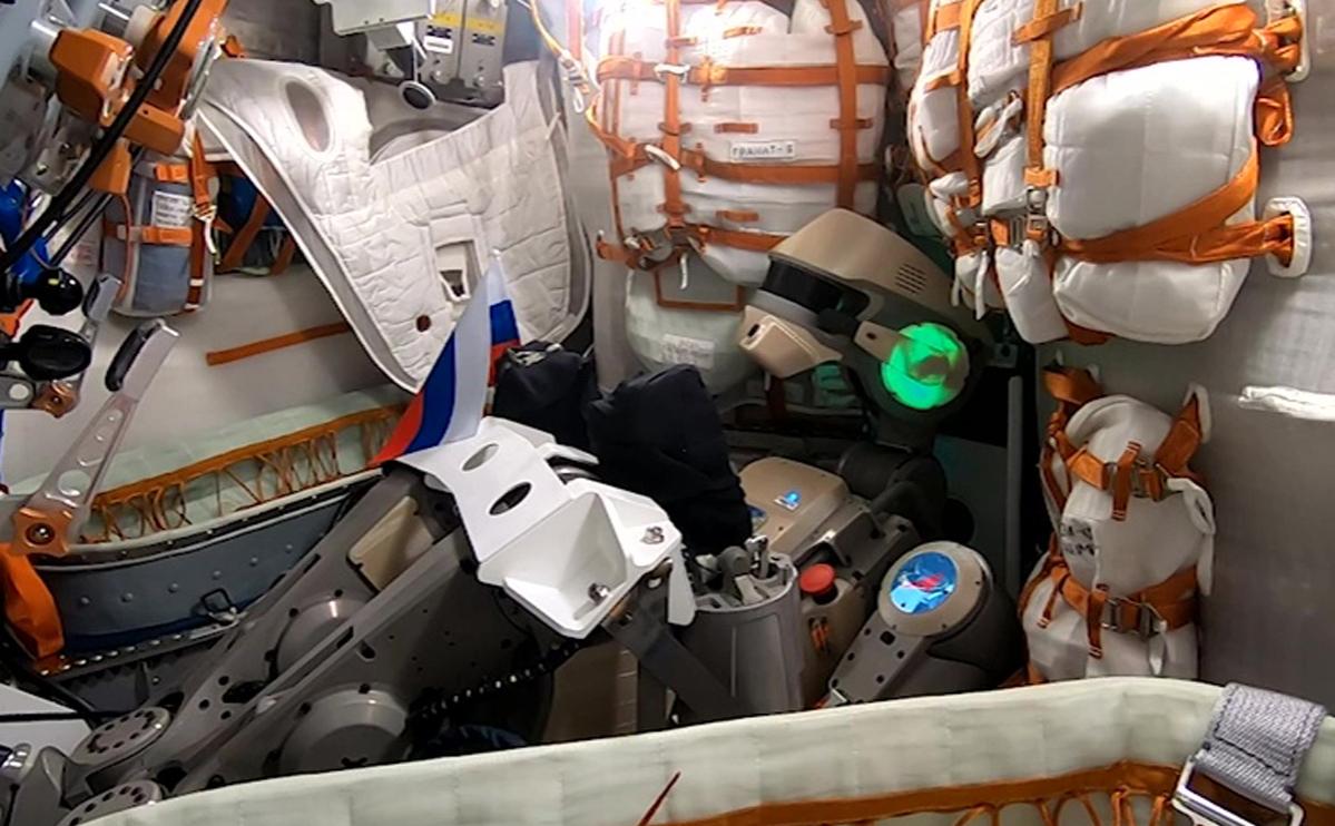 Антропоморфный робот Skybot F-850 («Федор»)