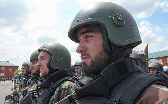 Архивное фото. Бойцы полка специального назначения